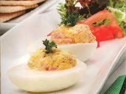 Huevos rellenos facilísimos
