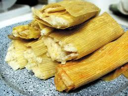 Elote Indio.  ( tamales )