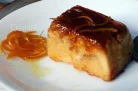 Pudding de naranja