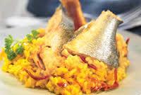 pescado con arroz salladeya