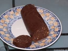 Morcilla de chocolate