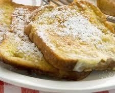 Tostadas francesas/Pan a la francesa
