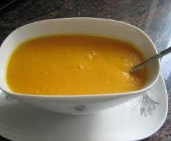 Salsa fina de zanahoria