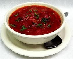 Sopa de Remolachas