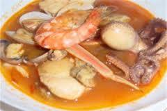 Sopa de crustáceos