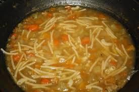 Sopa pirenaica de verduras