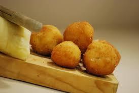 Bolitas de merluza y queso