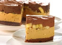 Torta de banana, nuez y chocolate