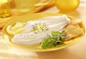 Filete de lenguado al limón