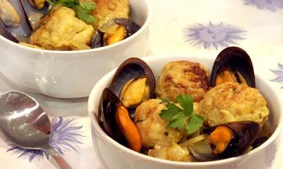 Recetas con mariscos: Sopa fría de ostras