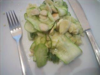Zucchini con almendras