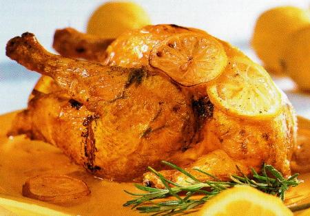 Pollo al coriandro