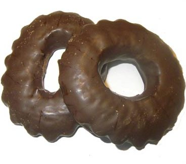 Rosquillas de chocolates