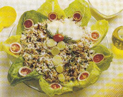 Ensalada de atún al curry