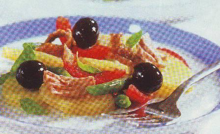 Ensalada de patata y hortalizas