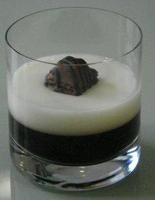 Gelatinas de café y leche