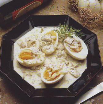 Huevos a la sidra