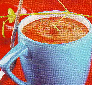 Crema fría de tomate
