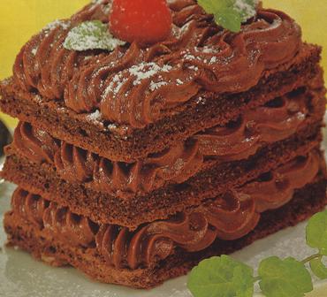 Pastelitos de chocolate con trufa