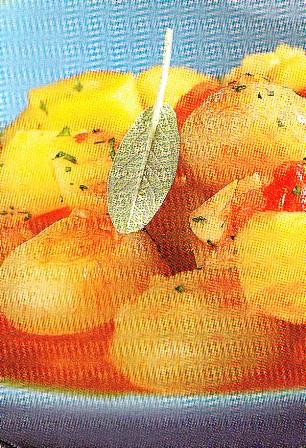 Estofado de patatas y verduras