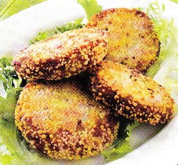 Croquetas de coliflor