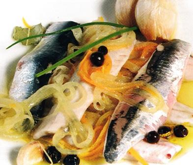 Escabecha suave de sardinas