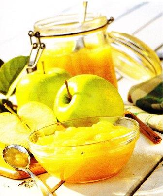 Preparar una compota de manzana con canela
