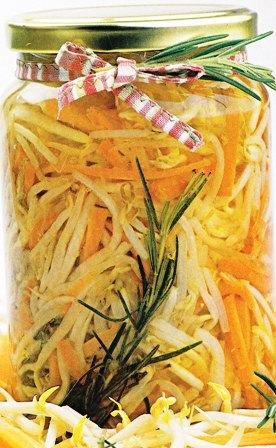 Conserva salada: brotes de soja en aceite
