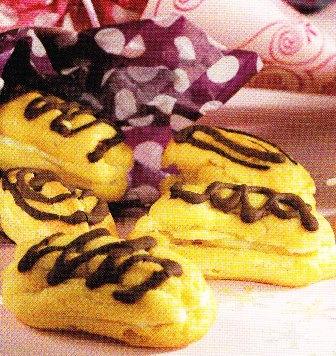 Dedos dulces con chocolate