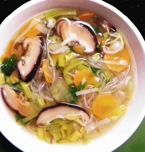 Receta de sopa miso con shiitake recetas de cocina - Como hacer sopa de setas en minecraft ...