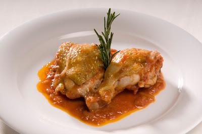 Muslos de pollo al vino Jumilla