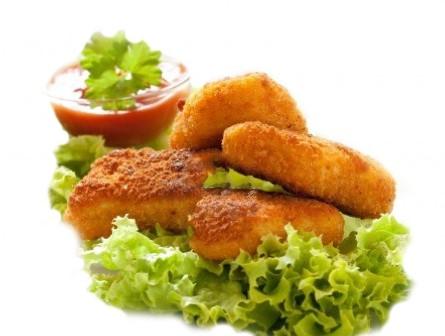 Nuggets para vegetarianos