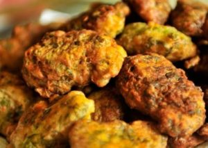 Buñuelos de verduras